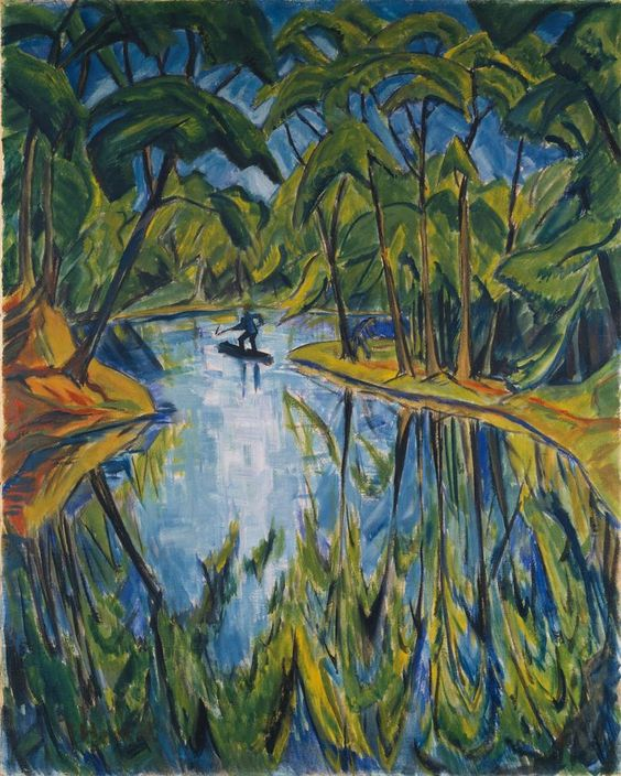 Design is fine. History is mine.      — Erich Heckel, Parksee, 1914. Private Collection....