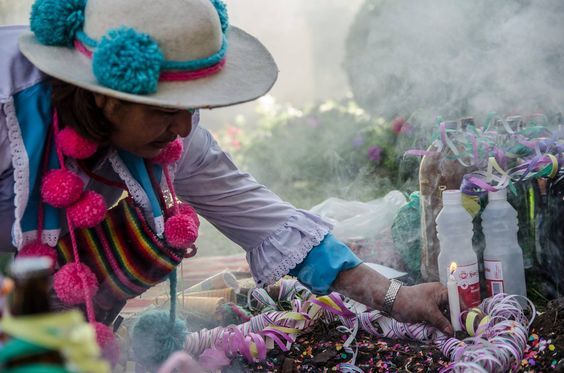 Celebrando a la Pachamama. Jujuy, Argentina (NOA)