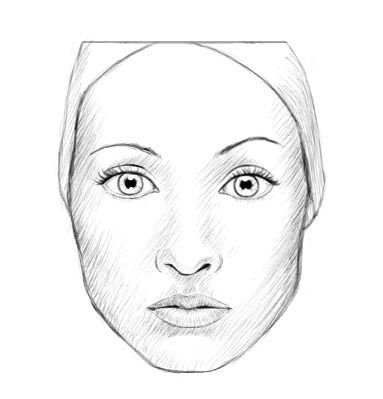 Woman Face Drawing Easy