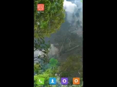 Water Garden Live Wallpaper Youtube Pez Lindo Edredones Lindo