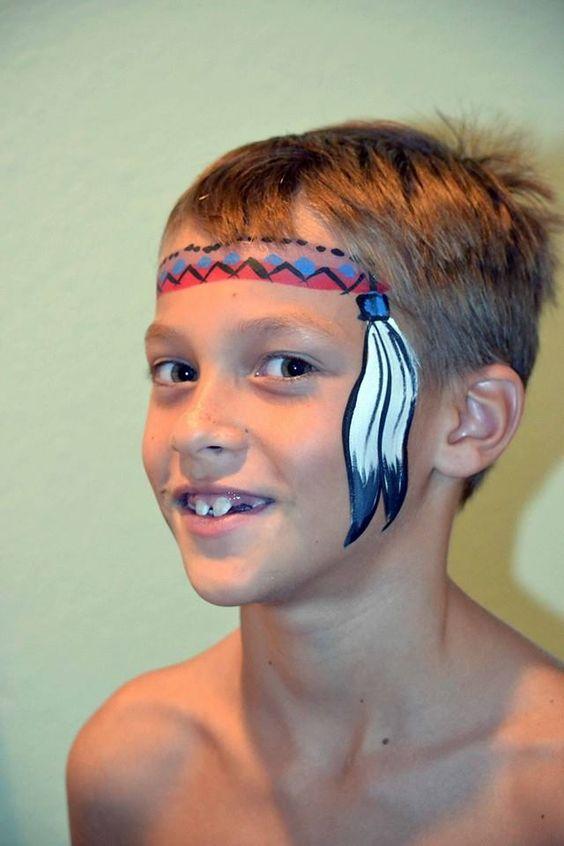 face paint kids boys - Google Search