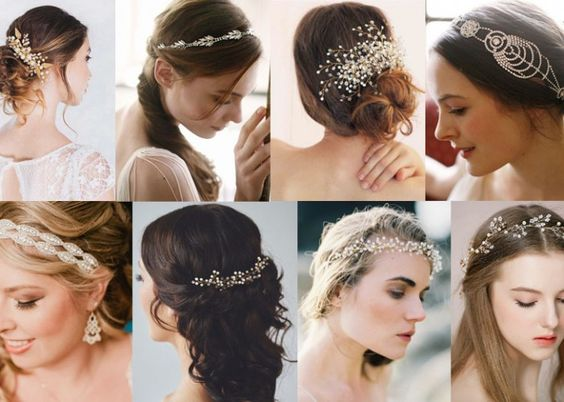 25 most gorgeous wedding hair accessories for every bride