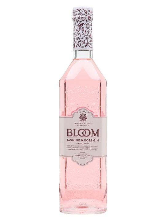 Bloom Jasmine And Rose Pink Gin In 2020 Pink Vodka Bloom Gin Gin
