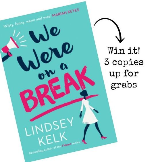Interview with 'We Were On A Break' author + competition winners! | Letter To My Ex