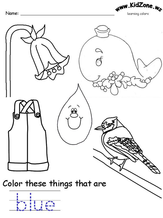 Worksheets, Coloring sheets and Colors on Pinterest
