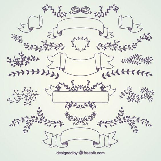 collection de décoration de mariage
