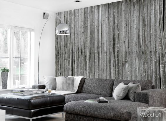 Wood 01, from the ConcreteWall line, is an entirely unique photographic wall covering designed and manufactured in Norway.