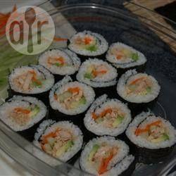 Sushi au thon épicé @ qc.allrecipes.ca