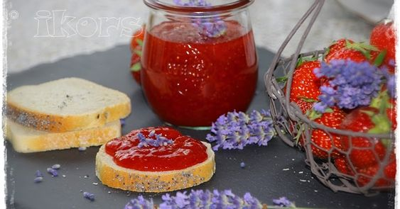 Lavendel küsst Erdbeere