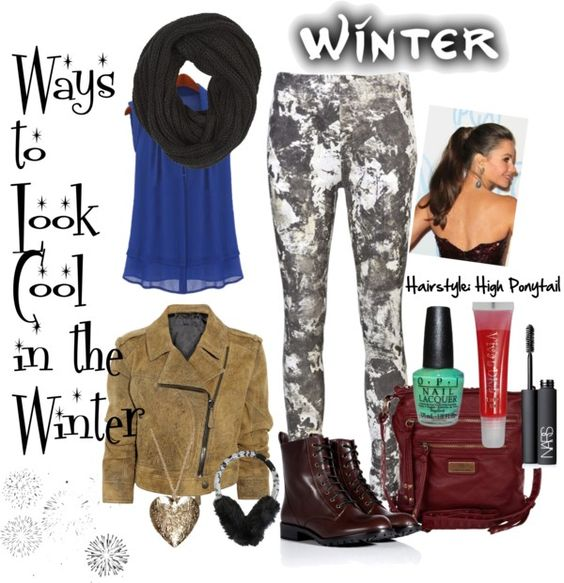 """Winter Essential Cool Style"" by jamie-15 ❤ liked on Polyvore"
