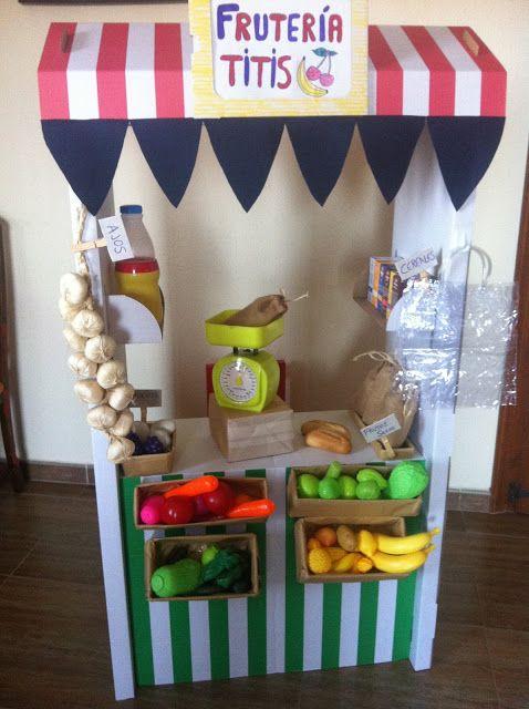 Una fruter a hecha con la estanter a skylta de ikea - Cosas de ikea ...