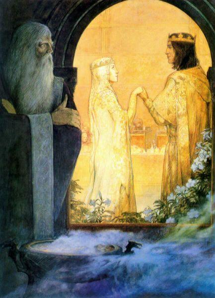 avalonsbeauty:   by Julek Heller  Merlin,... | A Life of Fairy Tales