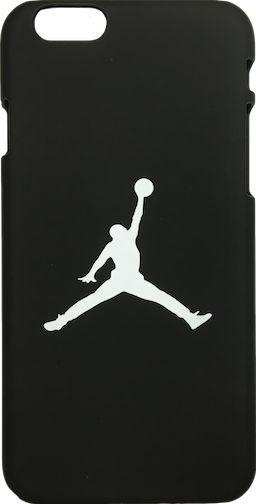 """Nike Jordan Black White """"Jumpman Logo"""" Hard Plastic iPhone 6/6s+ Plus Case"""