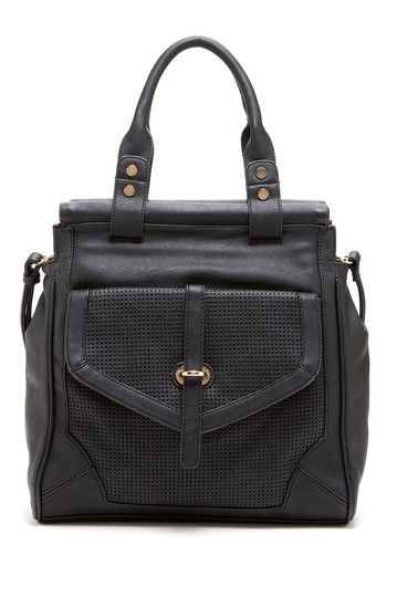 Moda Luxe Daisy Perforated Satchel