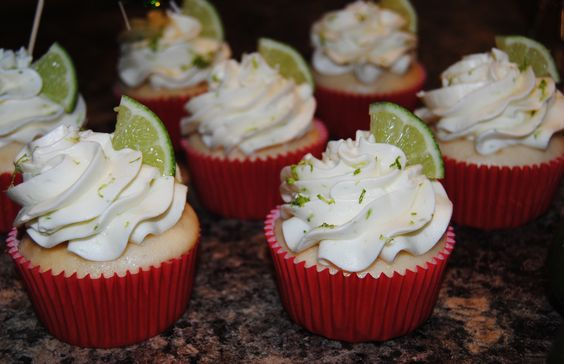Margarita Lime Cupcakes.. ORDER HERE --> https://www.facebook.com/StefsEvents  Kenosha area Wisconsin