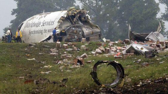 UPS cargo plane crash: Two dead in Alabama plane crash