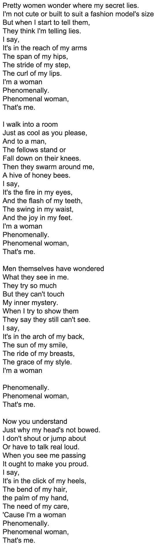 Pin On Belle Femme Beautiful Women Essay By Maya Angelou