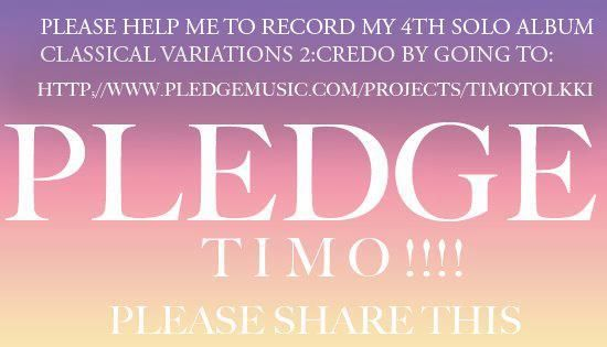 """None other than my old bandmate Jens Johansson is going to join me for keyboards of """"Credo"""". I am very happy about this. -Timo     http://www.pledgemusic.com/projects/timotolkki"""