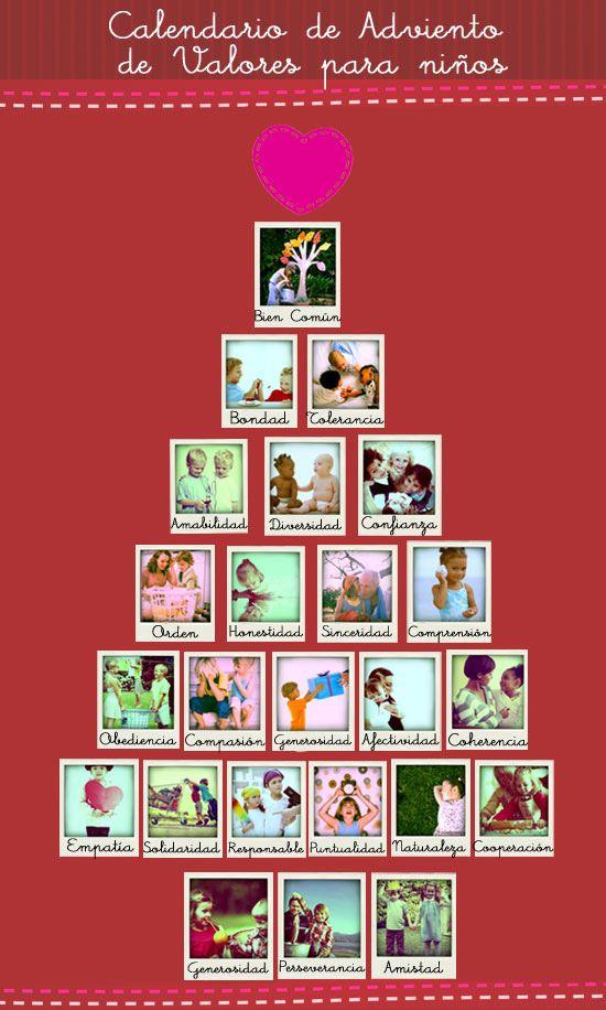 Calendario de adviento de valores para los ni os 3 for Calendario adviento ninos