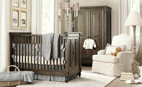 Unique gro er schrank wei es sessel im babyzimmer auff llige Ideen u Babyzimmer komplett gestalten Baby Pinterest Babies