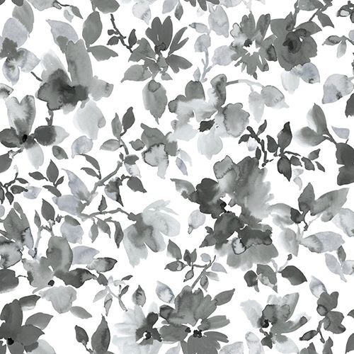 Roommates Decor Watercolor Black Floral Peel And Stick Wallpaper Rmk11236wp Bellacor In 2021 Peel And Stick Wallpaper Wallpaper Peelable Wallpaper