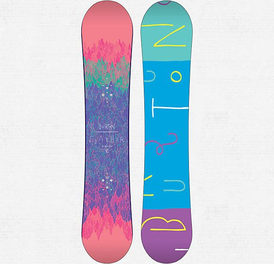 Feather Snowboard - Burton Snowboards