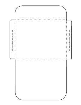 envelope templates task cards and card envelopes on pinterest. Black Bedroom Furniture Sets. Home Design Ideas