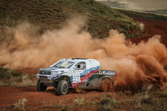Baja Aragon 2018 Ganador Coches: Vladimir Vasilyev y Michael Metge G-Energy Team