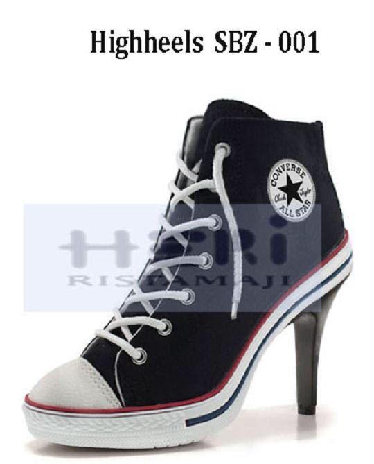 convers tacco alto | Tacones altos, Zapatos, Zapatos botines