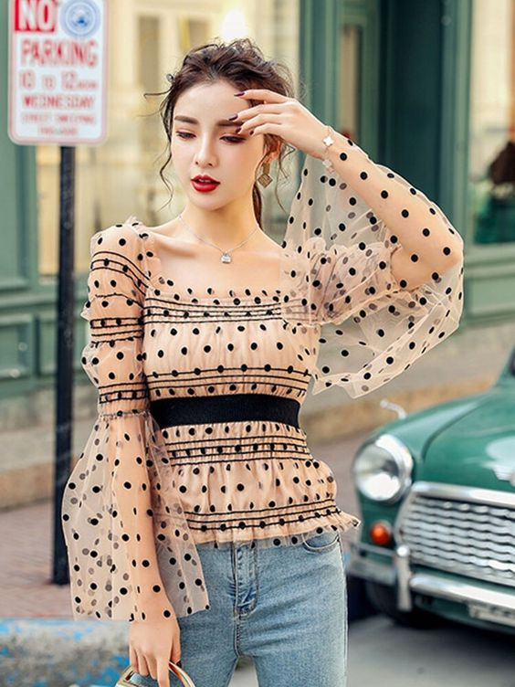 35 Stylish Blouses To Update You Wardrobe This Spring outfit fashion casualoutfit fashiontrends