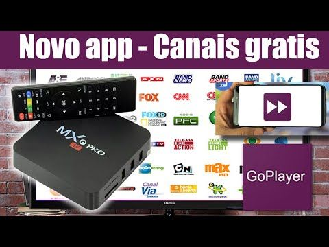Novo Aplicativo De Canais Fechados Gratis Para Tv Box Go Player