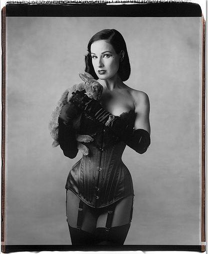 dita, corset, BUNNY