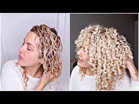 Lowbudget Curly Hair Routine One Product Challenge Youtube Super Curly Hair Curly Hair Routine Curly Hair Styles