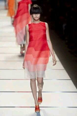 Gradient dress