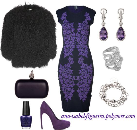 """""""Purple by Alexander McQueen"""" by ana-isabel-figueira on Polyvore"""