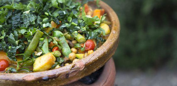 Lauren Vermue Biologische en Vegetarische Catering | Marokkaanse barbecue - tajine