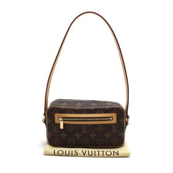 Louis Vuitton Pochette Cite Monogram Shoulder bags Brown Canvas M51183