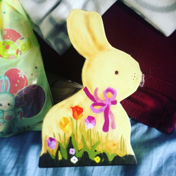 Easter decoration & box as gift.