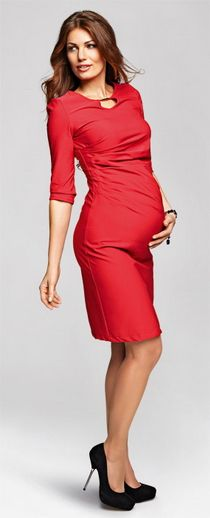 orina coral dress