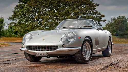 Ferrari Friday-1967 Ferrari 275 GTS/4 NART Spyder