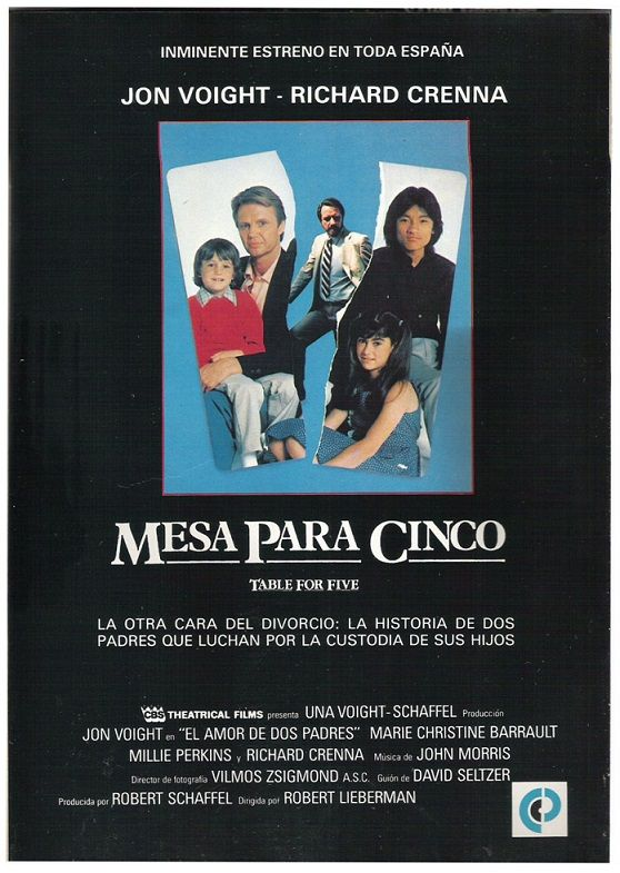 Mesa Para Cinco 1983 Tt0086405 Cards Movies Baseball Cards