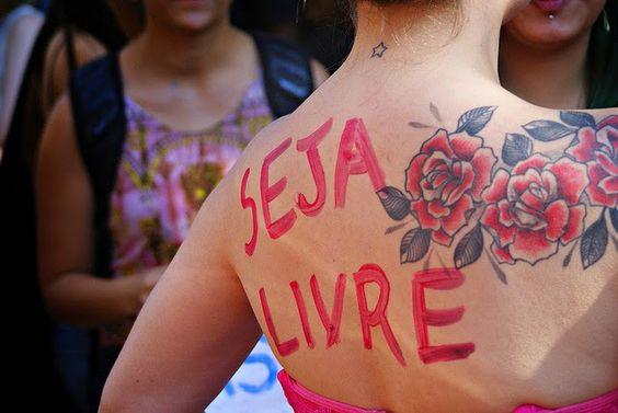 O feminismo liberta, seja livre!: