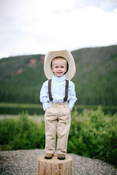 Cowboy Cuteness - Handsome Ring Bearer