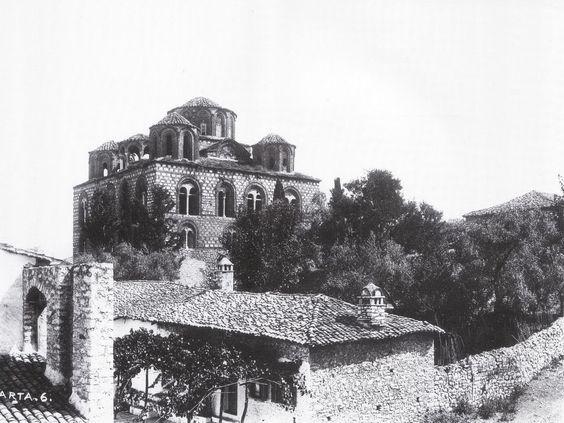 Ο ναός της Παρηγορήτριας της Άρτας, 1900 (Γερμανικό Αρχαιολογικό Ινστιτούτο Αθηνών)