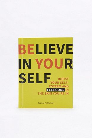 Believe In Yourself Book - Urban Outfitters