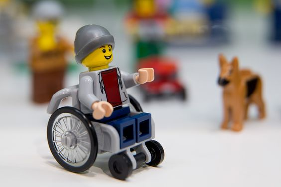Lego embraces diversity by unveiling its first disabled minifigure! #diversity #toylikeme