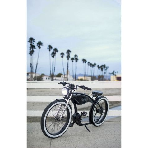E Bike Fahrrad Vintage Stil Bosch