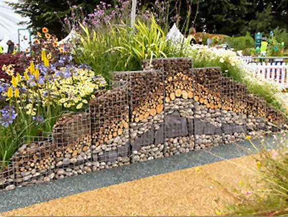 Landscaping Stones Port Elizabeth : Gabions as a design featurenomad gardens save the world one tree