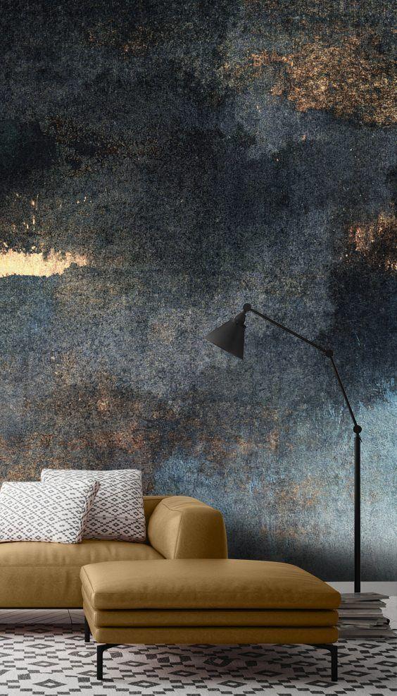 Rain With Sun Wall Mural Wallsauce Us Living Room Wall Decor Wall Decor