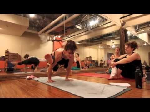▶ Yoga Tips with Christina sell - eka pada galavasana or flying pigeon pose - 2 entries